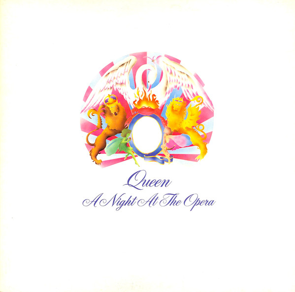 Queen - A Night At The Opera (LP, Album, Emb)