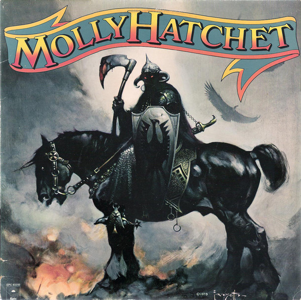 Molly Hatchet - Molly Hatchet (LP, Album)