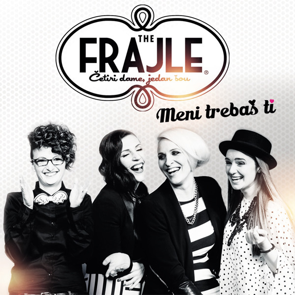 The Frajle - Meni Trebaš Ti (CD, Comp)