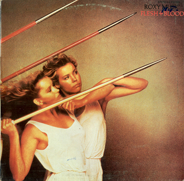 Roxy Music - Flesh + Blood (LP, Album)