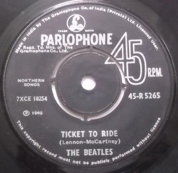 The Beatles - Ticket To Ride (7