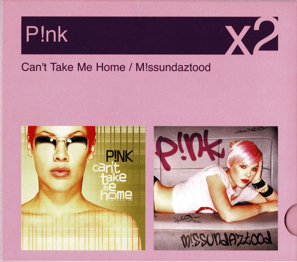 P!NK - Can't Take Me Home / M!issundaztood (CD, Album, RE + CD, Album, RE + Box, Comp)