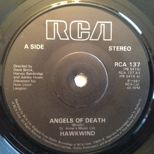 Hawkwind - Angels Of Death (7