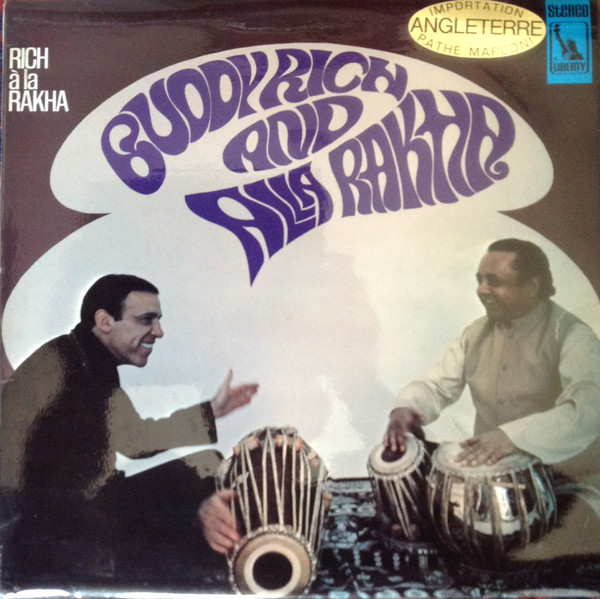 Buddy Rich And Alla Rakha - Rich À La Rakha (LP, Album)