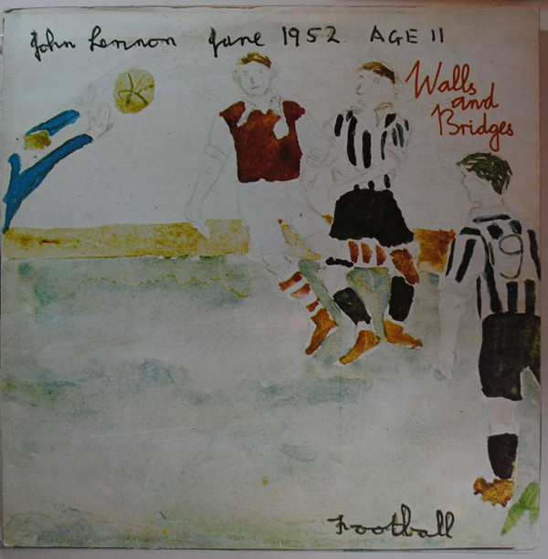 John Lennon -  Walls And Bridges  (LP, Album)