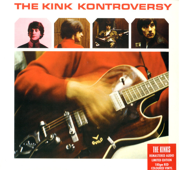 The Kinks - The Kink Kontroversy (LP, Album, Mono, RE, RM, Red)