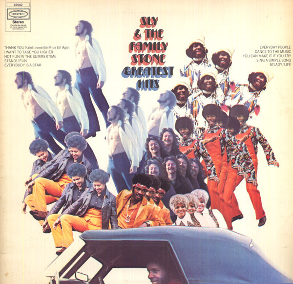 Sly & The Family Stone - Greatest Hits (LP, Comp)