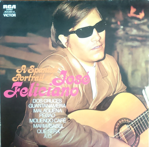 José Feliciano - A Spanish Portrait Of (2xLP, Comp, RE, Gat)
