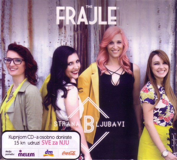The Frajle - B Strana Ljubavi (CD, Album, dig)