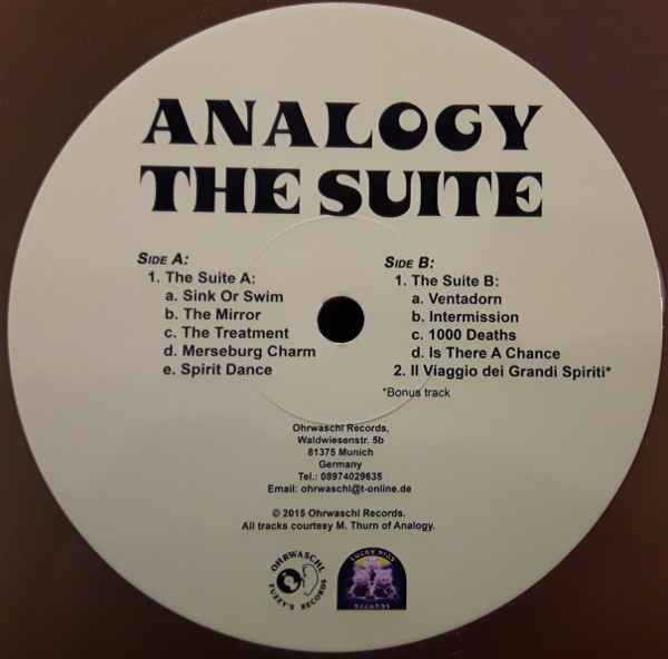 Analogy - The Suite (LP, Album, RE, Yel)