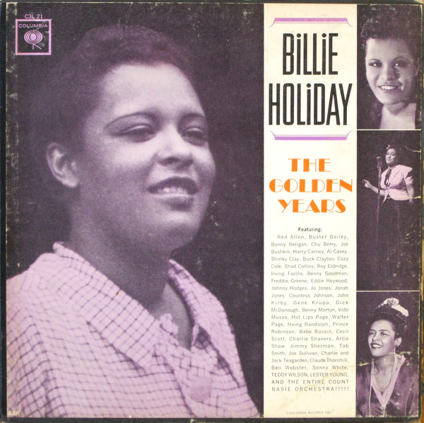 Billie Holiday - The Golden Years (3xLP, Comp, Mono, RE + Box)