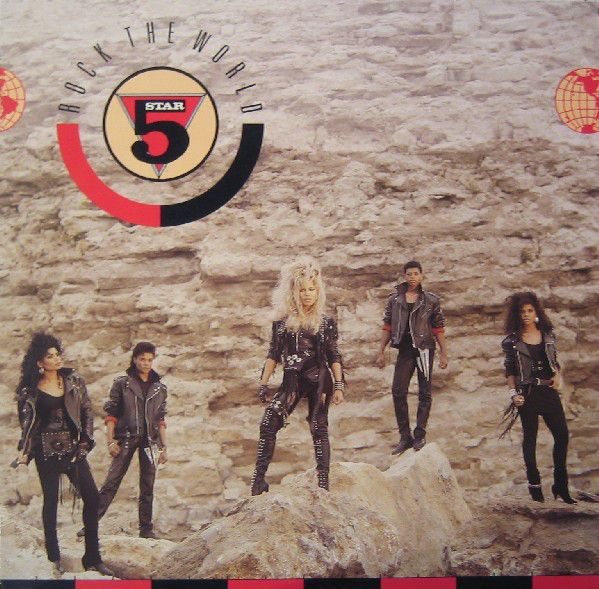 5 Star* - Rock The World (LP, Album)