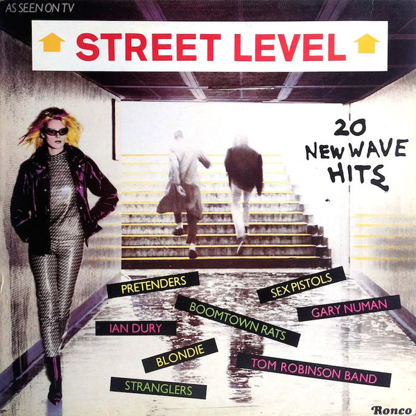Various - Street Level (20 New Wave Hits) (LP, Comp)