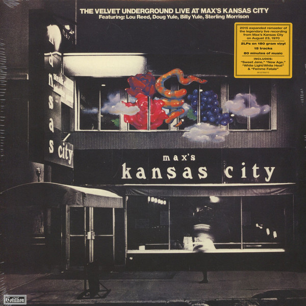 The Velvet Underground - Live At Max's Kansas City (2xLP, Album, Mono, RM, 180)