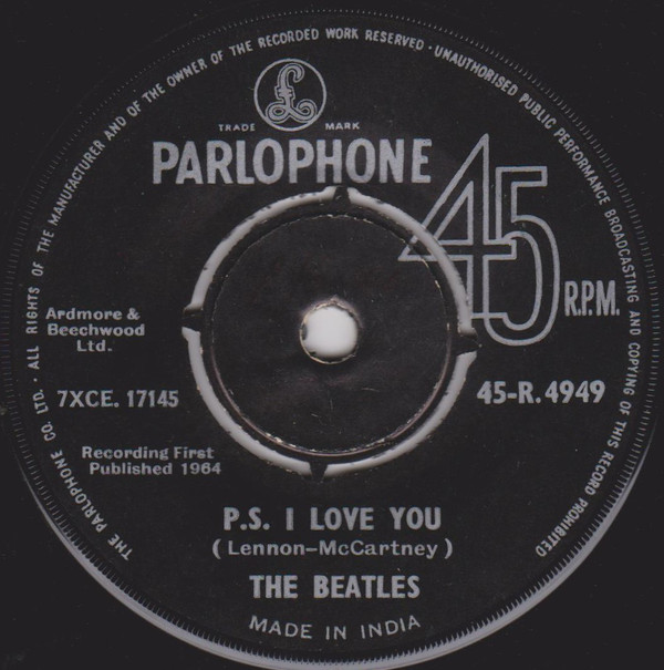 The Beatles - Love Me Do (7