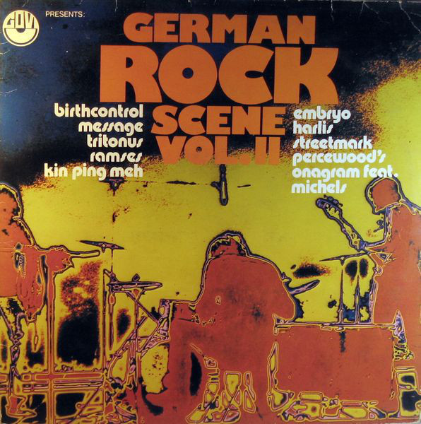 Various - German Rock Scene Vol. II (LP, Comp)