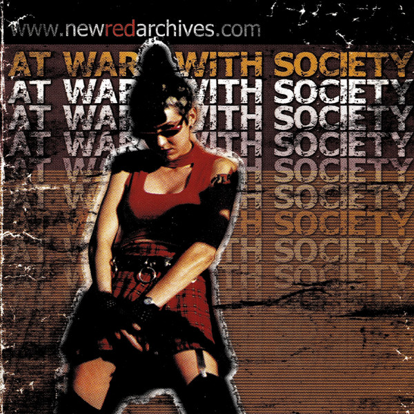 Various - At War With Society (CD, Comp)
