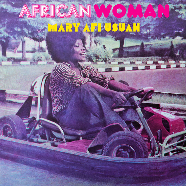 Mary Afi Usuah - African Woman (LP, Album, RE)