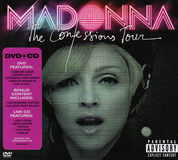 Madonna - The Confessions Tour (DVD-V, PAL + CD, Album)