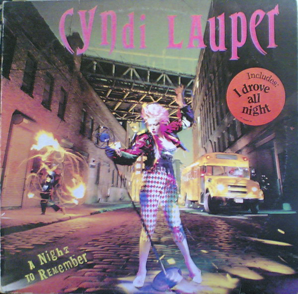 Cyndi Lauper - A Night To Remember (LP, Album)