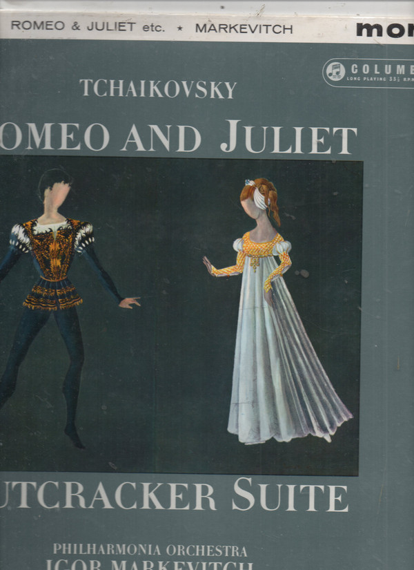 Tchaikovsky* - Philharmonia Orchestra - Igor Markevitch - Romeo And Juliet / Nutcracker Suite (LP, Mono)