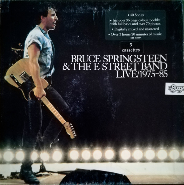 Bruce Springsteen & The E-Street Band - Live/1975-85 (3xCass, Album)